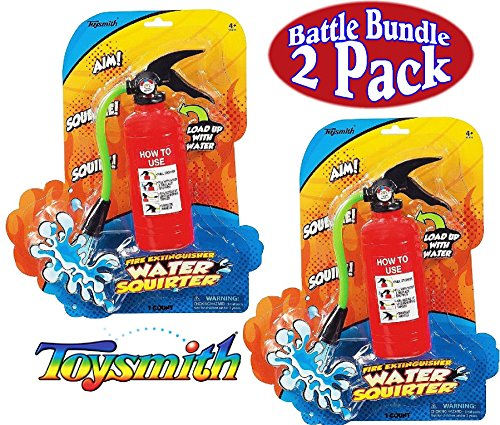 Toysmith Extinguisher Squirters Battle Bundle