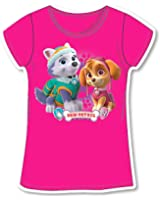 Paw Patrol T-Shirt Girl Half Sleeve – Everest and Skye – T-Shirt – New Original Product 755 – 169