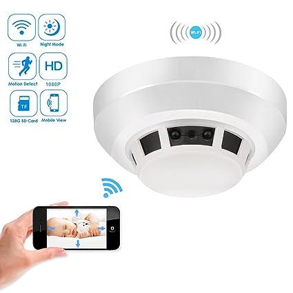 Secret Spy Camera Fake Smoke Alarm Surveillance Gadgetwithaudio Sound Motion Foto & Camcorder
