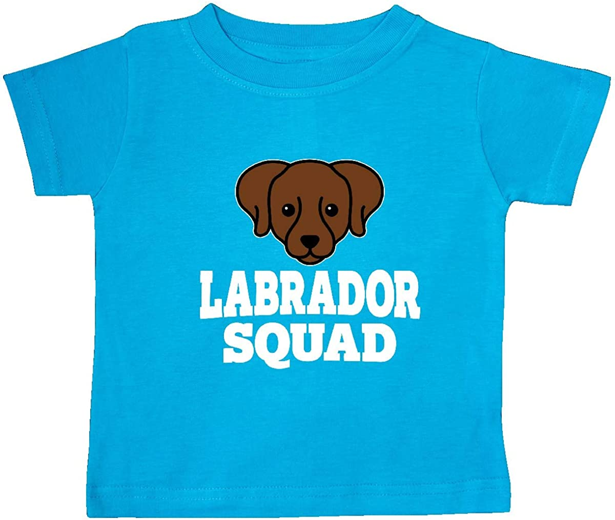 inktastic Dog Chocolate Labrador Squad Baby T-Shirt