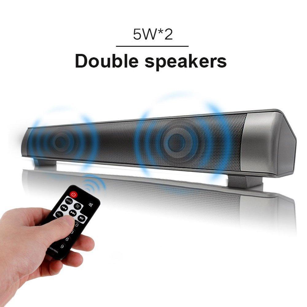 Drahtlose Bluetooth Soundbar, 10W 16-Zoll Bluetooth4.0 + EDR ...