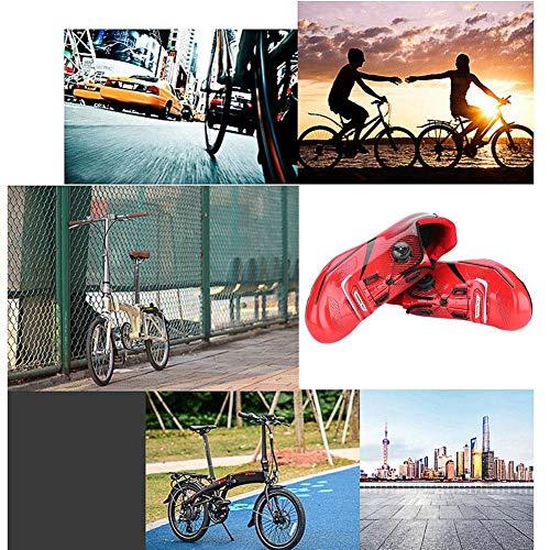 Alomejor 1 Paar Mode Radfahren Schuhe Anti-Skid Lock System Radfahren Schuhe Atmungsaktiv Rennrad Schuhe Männer Erwachsene