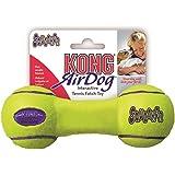 KONG Air Dog Squeaker Dumbbell Dog Toy, Medium