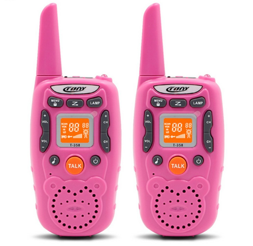 ENGPOW Walkie Talkies for Kids, 22 Channel Walkie Talkies 2 Way Radio 3 Miles FRS/GMRS Handheld Mini Walkie Talkies, Gifts for Kids