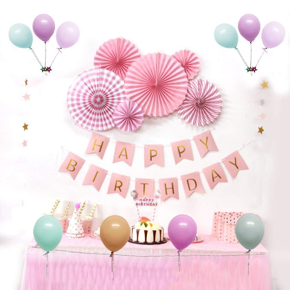 Amazon 誕生日 飾り付け バースデー Happy Birthdayガーランド