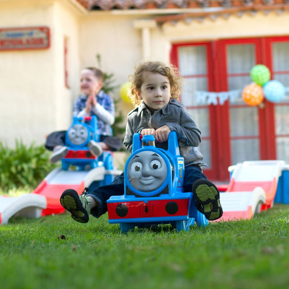 - Blue Step 2 736600 Thomas The Tank Engine Up and Down Coaster Toy