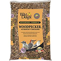 Wild Delight Woodpecker, Nuthatch N' Chickadee Food, 20 lb