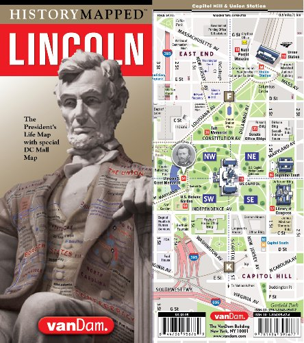 History Mapped Lincoln Map by Vandam: Capital - Lincoln Map Mall Of Road