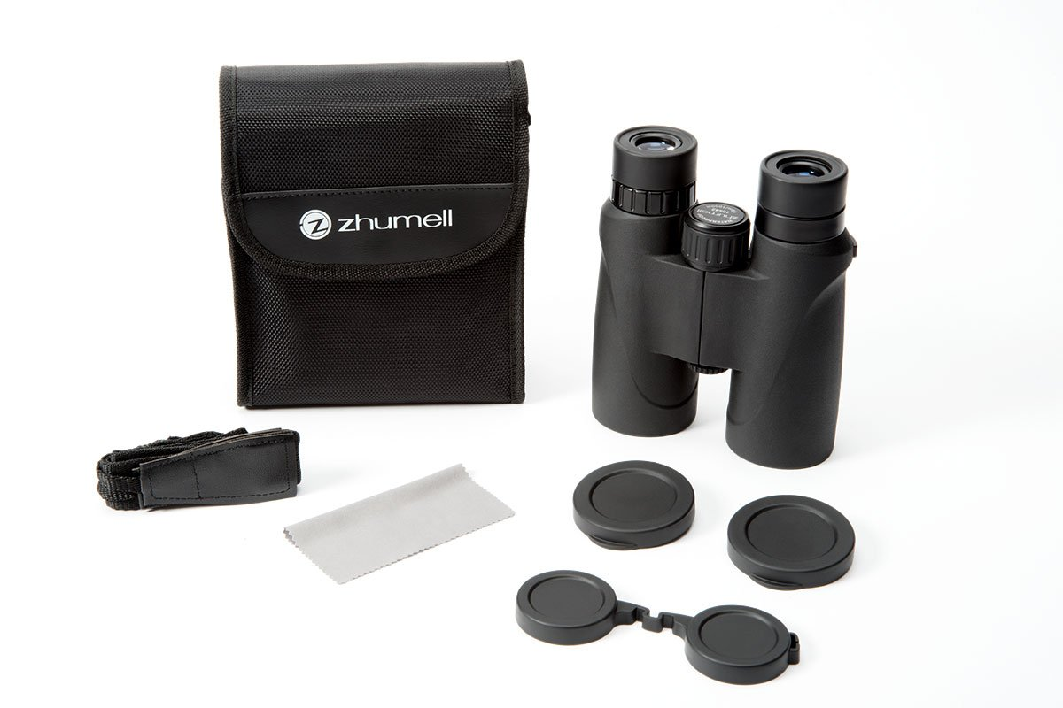 Zhumell 10×42 Roof Prism Binocular – Bright and Sharp Views