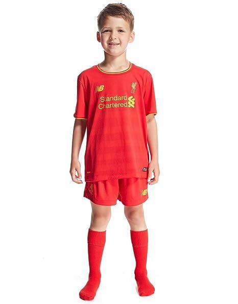 new concept 0e025 048cd New Balance Liverpool FC 2016/17 Home Kit Children