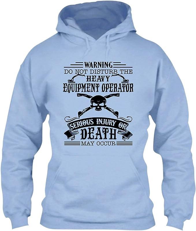Heavy Equipment Operator Hoodie Im Not Super Woman Heavy Equipment Operator Hoodie for Women