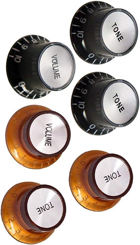 Botones De Control De Volumen De 4 Tonos 2 Botones Para Guitarra ...