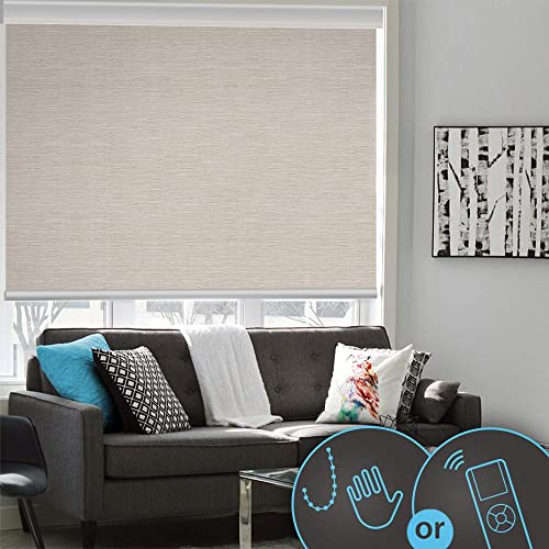 Built-in Battery Smart Home Motorized Window Roller Shades/Blinds Picture