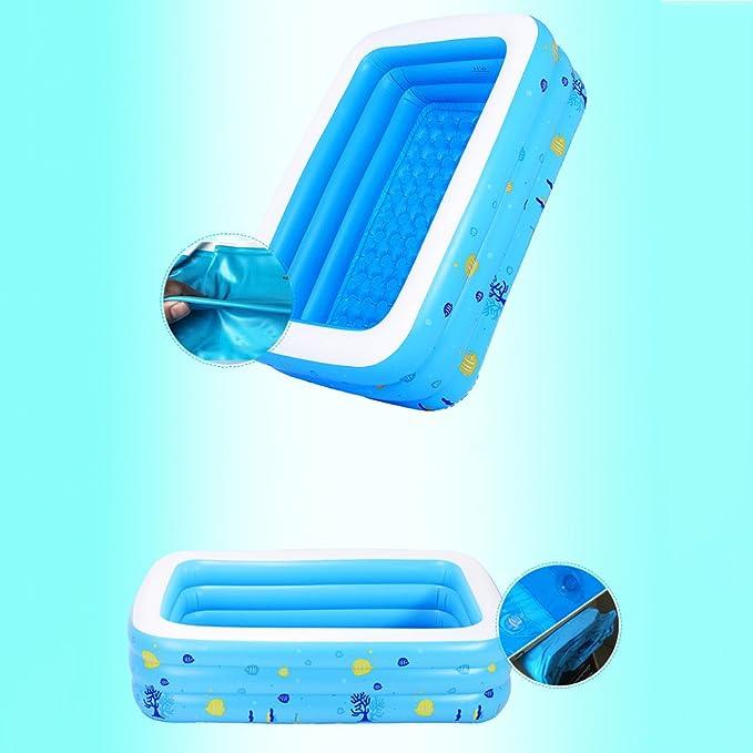 Pinjeer 4 tamaños Opcionales Piscinas inflables Familiares de Verano para Adultos y niños 3-10, una Mejor opción para refrescarse Este Verano: Amazon.es: ...