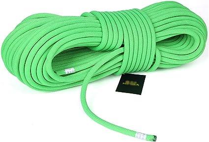 Rope Cuerda de Escalada Verde Exterior diámetro -10.5mm ...