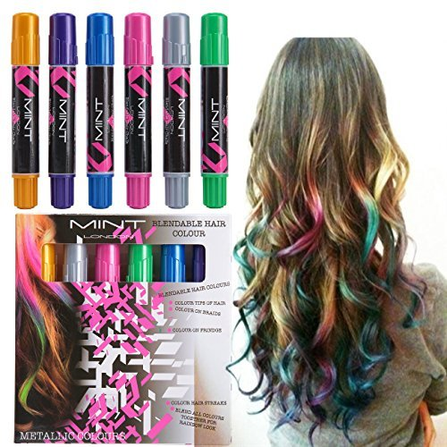 Metallic Hair Chalkers