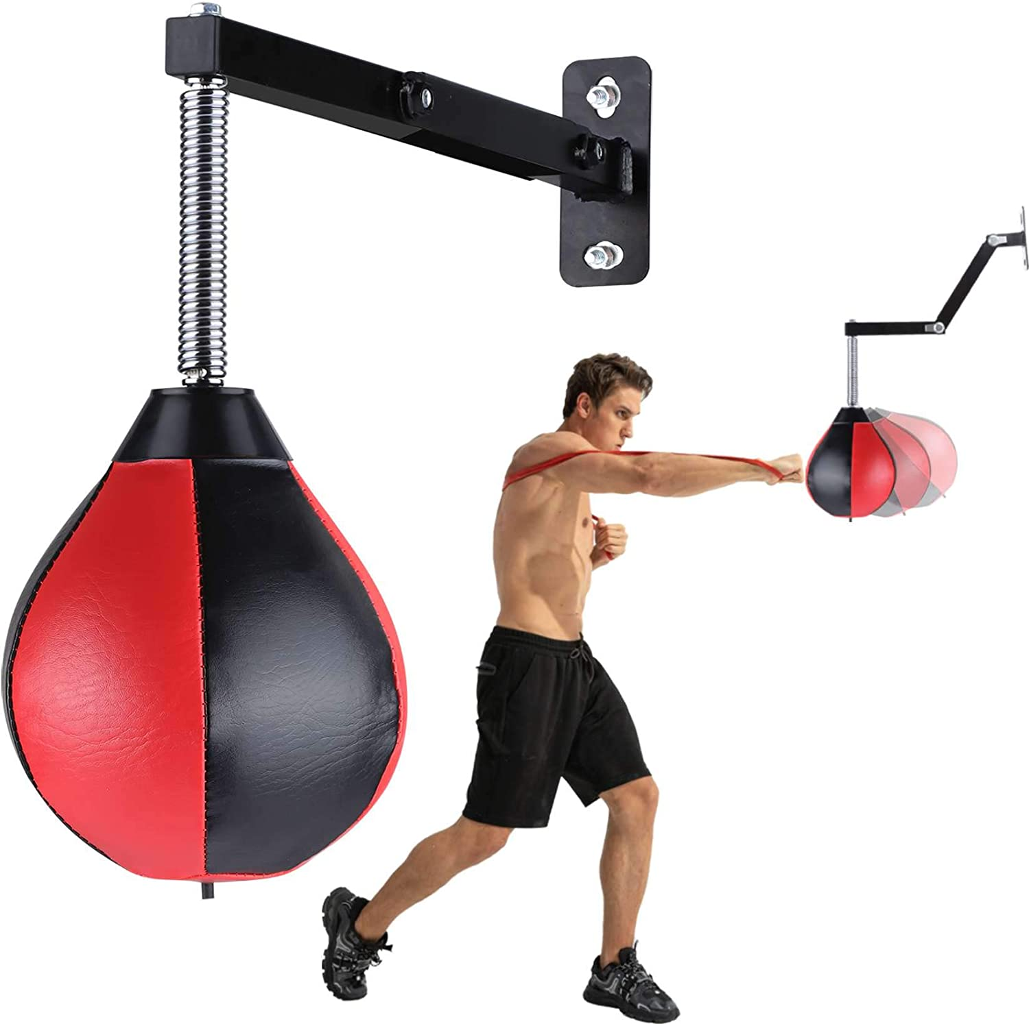 Boxer Training Speedbag Platform Adjustable Heavy-Duty Durable Boxing Workout