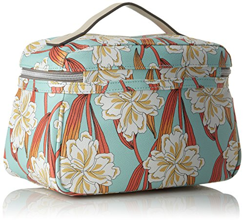 Jolly Ornament Washbag Mhz 2, Womens Bag Organiser, Turquoise (Light Turquoise), 12x22x22 cm (B x H T) Oilily