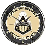 WinCraft NCAA Purdue Boilermakers Chrome Clock
