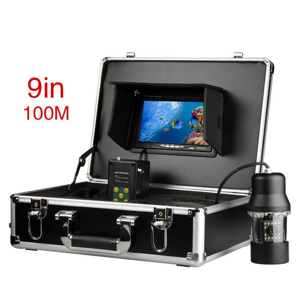 憧れの 水中フィッシュファインダー HD 水中カメラ9インチ液晶モニター IP68 IP68 (100m) 防水 防水 (100m) B07MMV3T5Q, ナガクテチョウ:4d48e928 --- ciadaterra.com
