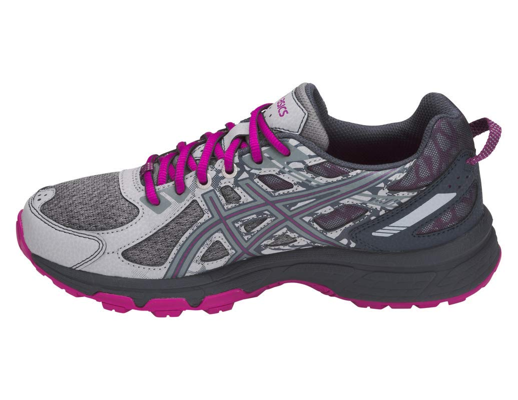 ASICS Gel-Venture 6 MX Women's Running Shoe, Mid Grey/Purple Spectrum, 5 M US by ASICS (Image #2)