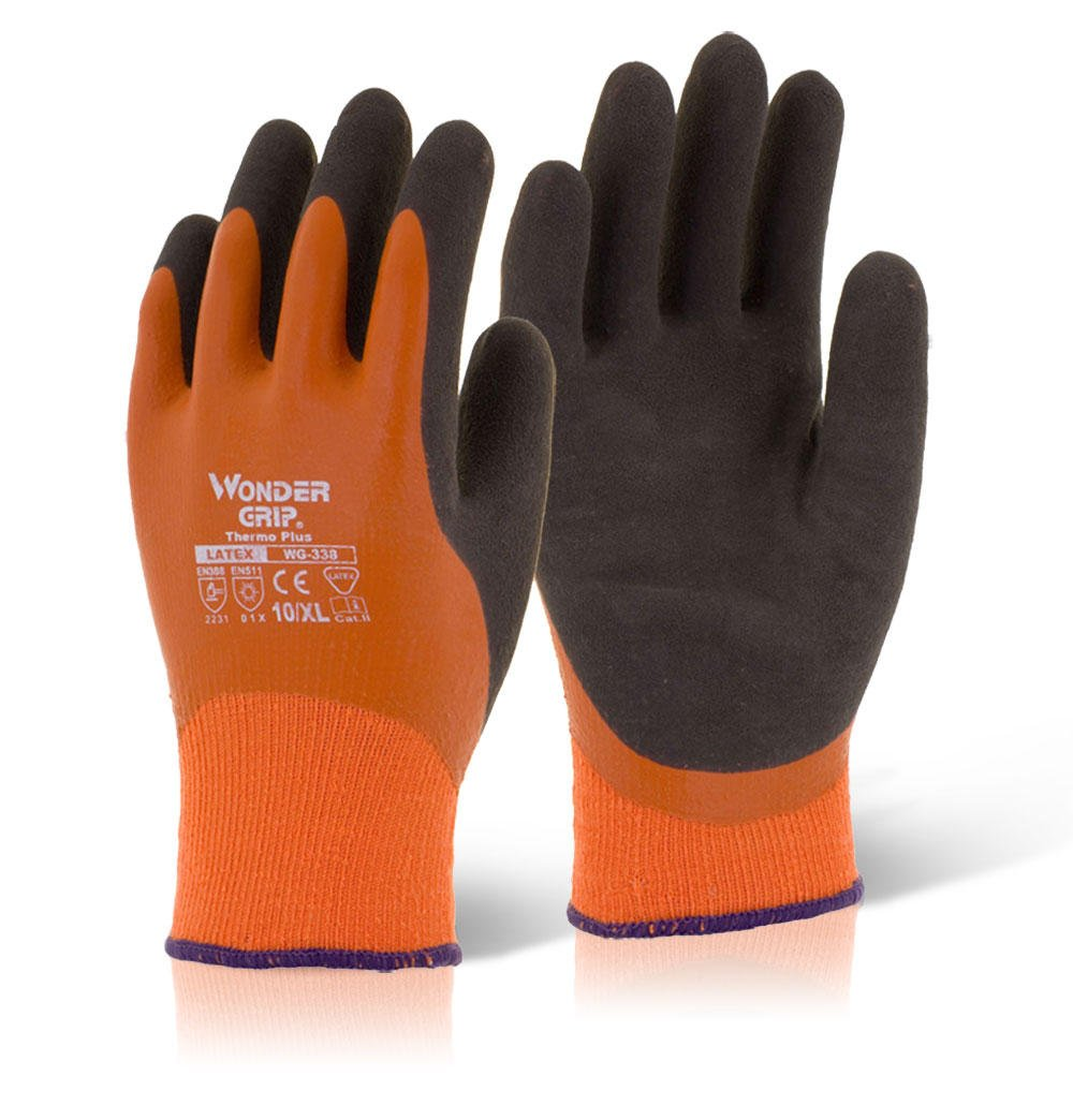 Wonder Grip Thermo Plus Orange XL