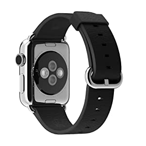 Apple 38MM Classic Buckle for Apple Watch - Black