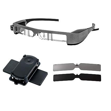 233edc7d4bc6 Amazon.com  Moverio BT-300 Drone FPV Edition Smart Glasses - (2019  Edition)  Office Products
