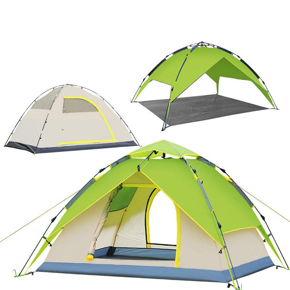 RFVBNM Zelt Multi-man drei-use hydraulische automatische Zelt zweilagige Regen-Proof Outdoor Campingzubehör