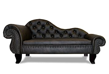 Recamiere antik  Luxury Dog Sofa Dog Bed PARIS Chaiselongues Chesterfield XXL ...