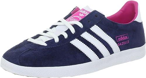 adidas Originals Gazelle OG W, Baskets Basses Femme, Bleu