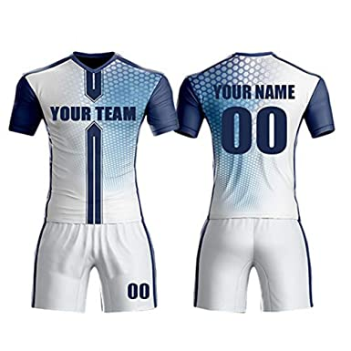 c5606072f8c Amazon.com: M-W Sports Sublimation Digital Printing Soccer Jerseys for Team  Custom Any Name Any Number: Clothing