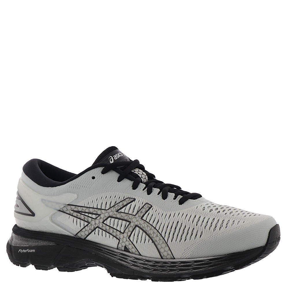 ASICS Men's Gel Kayano 25 Running Shoe, Glacier GreyBlack, 10.5 D(M) US