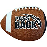 Passback Sports Peewee Football, (Ages 4-8)