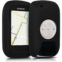kwmobile Housse GPS vélo - Accessoire pour Garmin Edge 800/810 / Touring Plus - Protection boitier navigateur - Étui en Silicone Noir