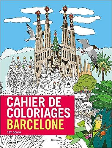 Livres gratuits Cahier de coloriages Barcelone pdf