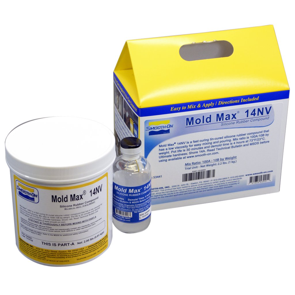 Mold Max 14NV Silicone Mold Making Rubber - Trial Unit