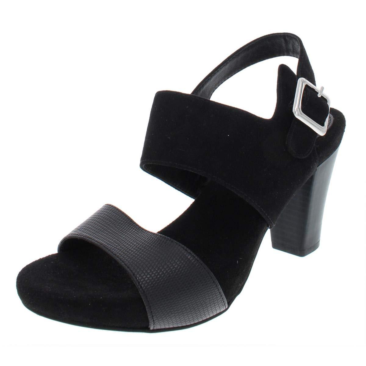 Black Giani Bernini GB35 Aikko2 Ankle Strap Buckle Sandals, Dark Taupe