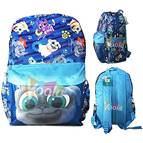 edae7158b2d Image Unavailable. Image not available for. Color  Disney 16 quot  PUPPY  DOG PALS Bingo   Rolly Back To School BACKPACK Book Bag
