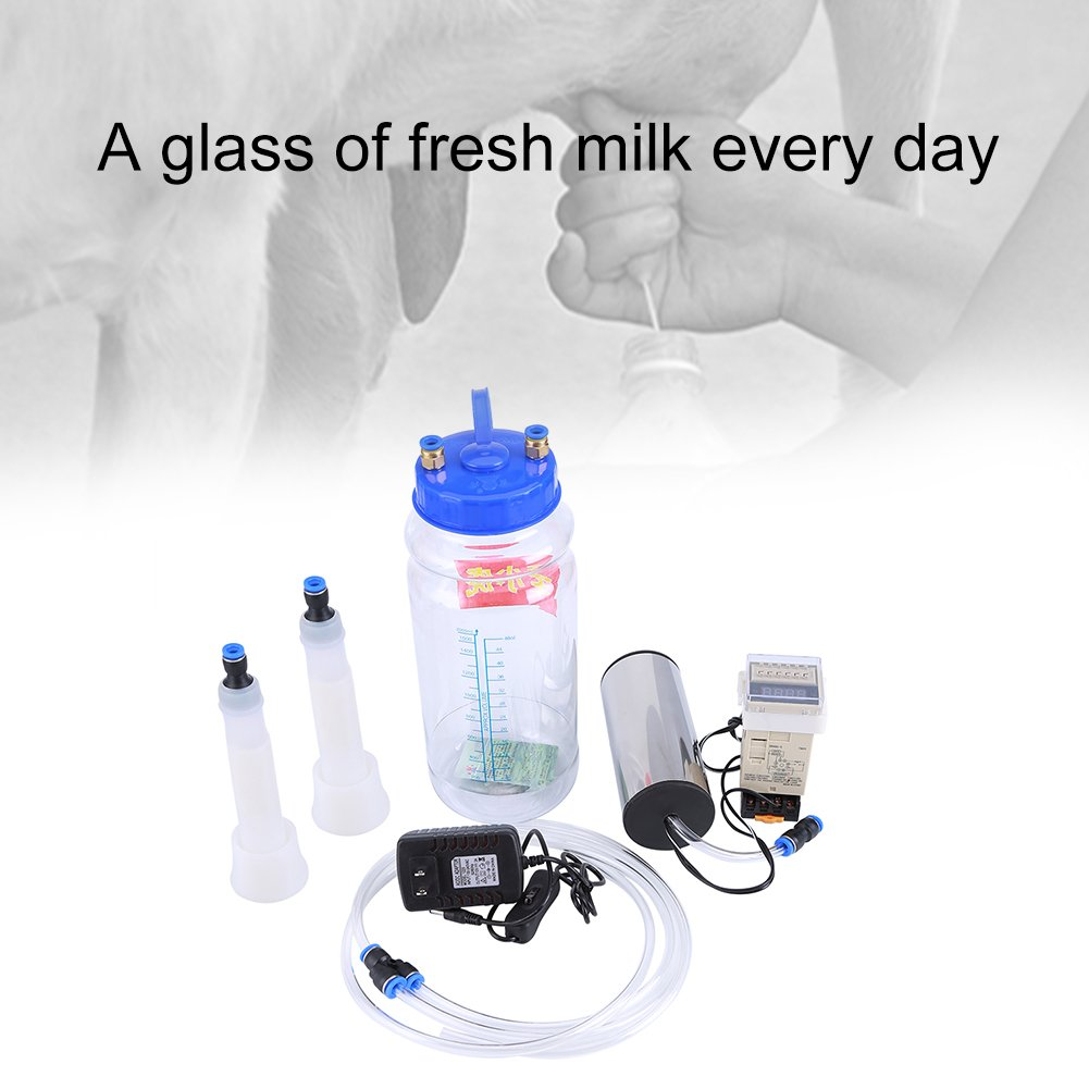 Tits milking machine vacuum pump