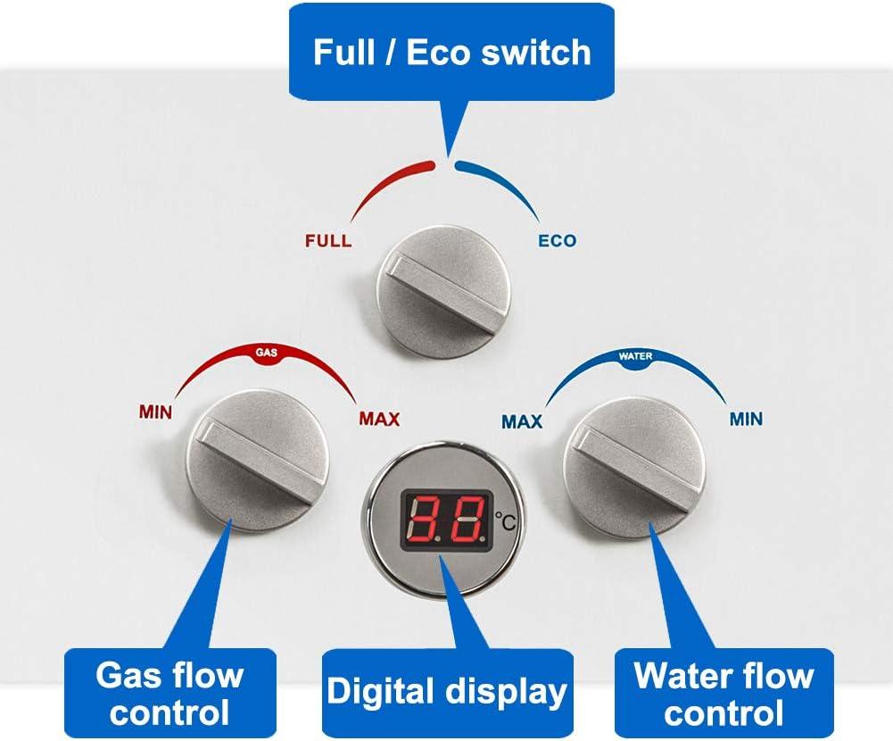 3.00V Camplux-BW422-Chauffe-eau /à gaz sans r/éservoir avec r/égulateur de gaz CE 32.00W