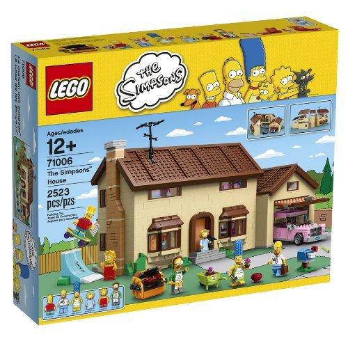 LEGO Simpsons 71006 The Simpsons House [並行輸入品]   B01HAMAWKS