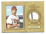 BRANDON WEBB 2007 Topps Turkey Red Relics #BW Game-Used Pants Card Arizona Diamondbacks Baseball
