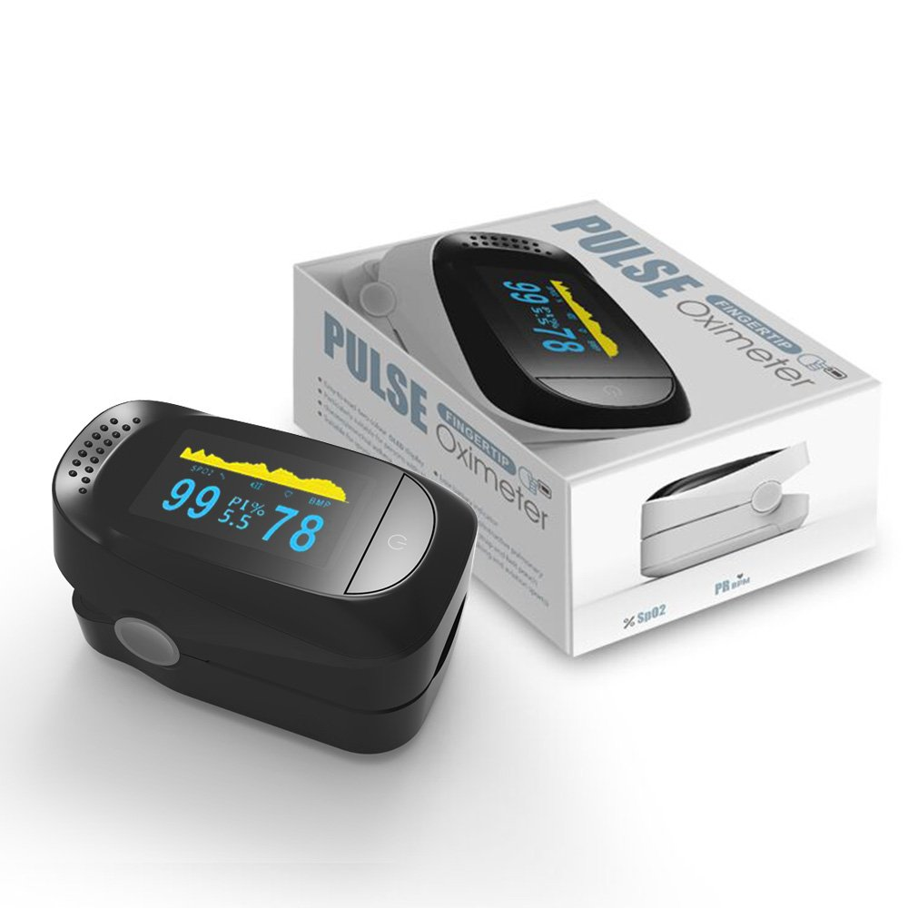 Home Healthcare Fingertip Pulse Oximeter SpO2 Finger Clip