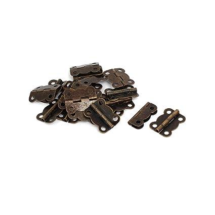 sourcingmap Bisagras de empalme de tono bronce para estuches ...