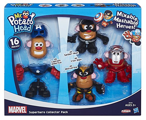 Mr Potato Head Marvel Mixable Mashable Super Hero Collector Pack by Natorytian (Mrs Marvel Costume)