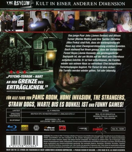 Home Invasion Dieses Haus Gehort Mir 3d Blu Ray Special Edition