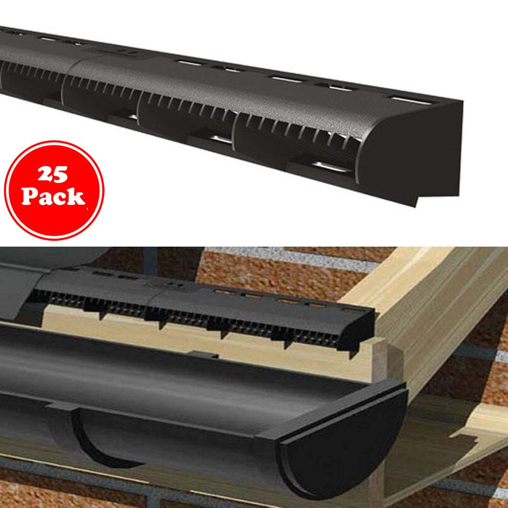 Eaves Ventilation//Roof Space Air Flow 1m Long Vents 10 Metre Pack 10mm Over Fascia Vent
