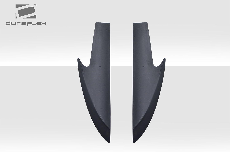 2 Piece Duraflex Replacement for 2005-2013 Chevrolet Corvette C6 Stingray Look Window Rails