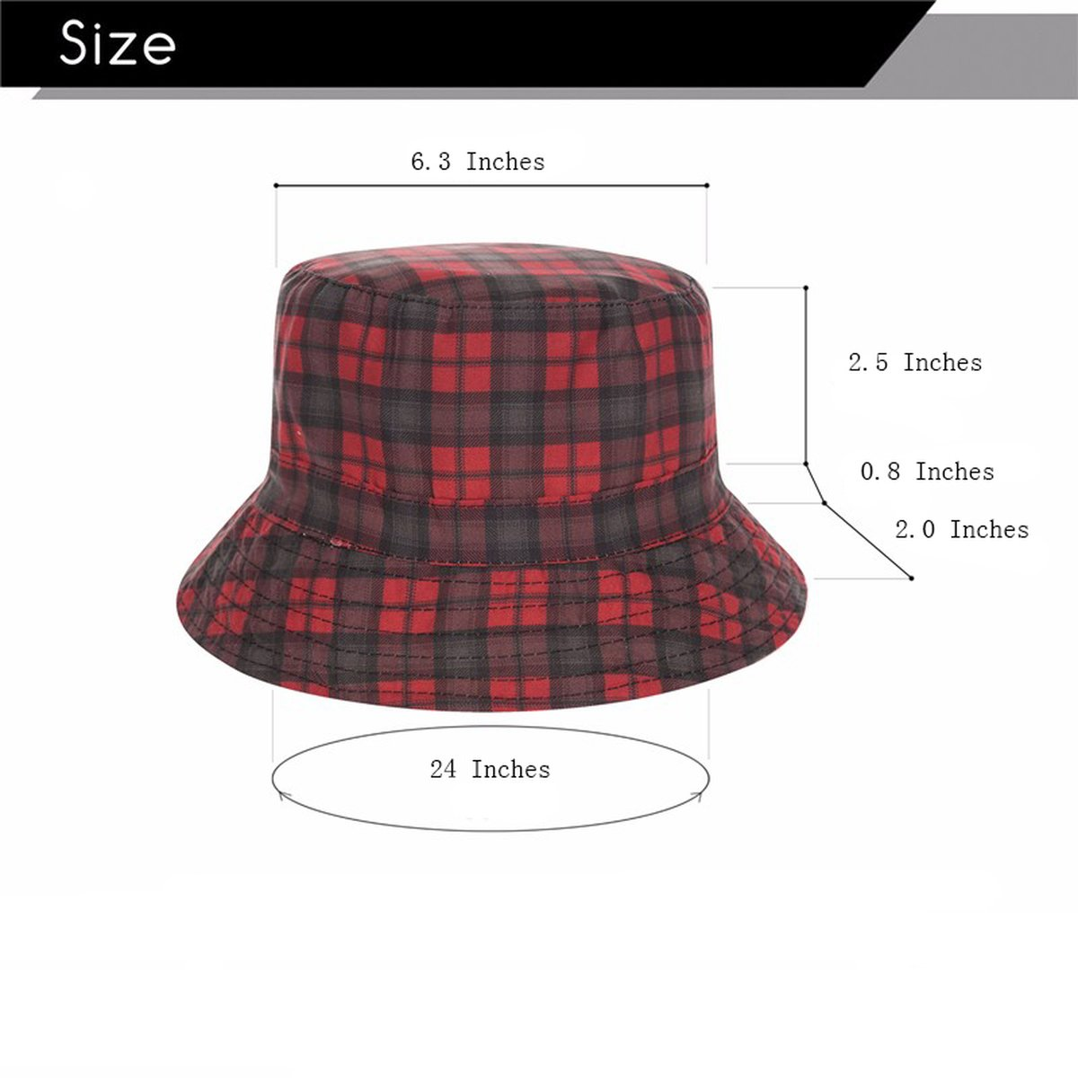 AOBRITON Summer Harajuku Flat Bucket Hat 3D Printed England Style Beach Hat Hip Hop Cap